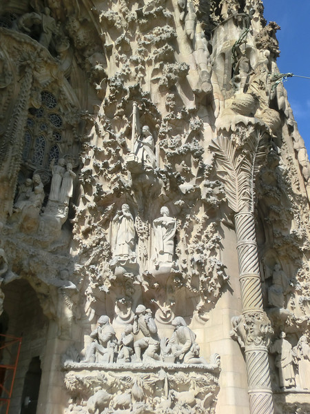 Exterior, Sagrada Familia