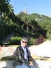 Linda on the Esplanada, Park Guell
