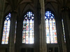 Cologne Cathedral:  Interior stained glass