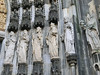 Cologne Cathedral:  Marvelous statuary