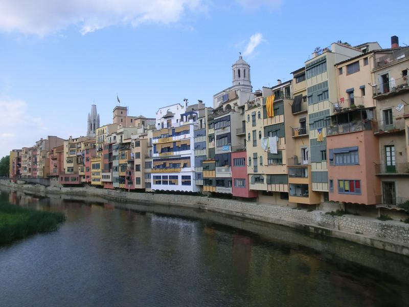 Girona riverside