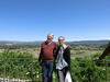 La Cadiere d'Azur:  Ted and Mary Lou (in her Euroscarf)