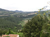 Le Castellet:  View of countryside from ramparts