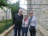 Le Castellet:  Ted, Linda and Mary Lou