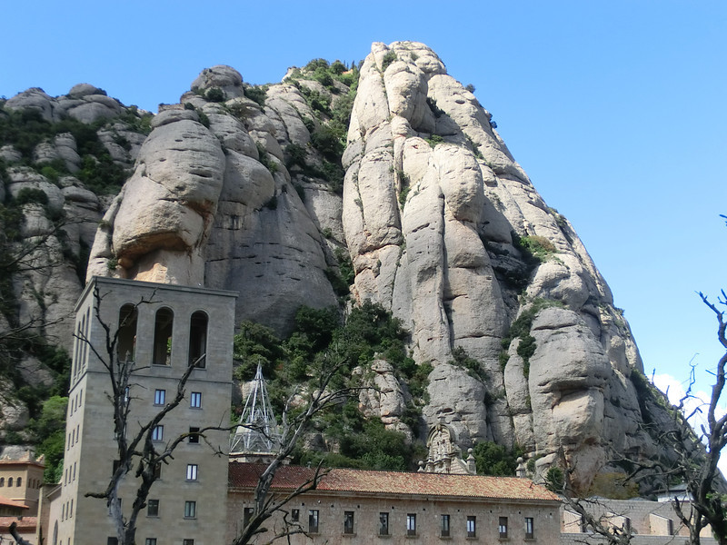 Mountains above Montserrat