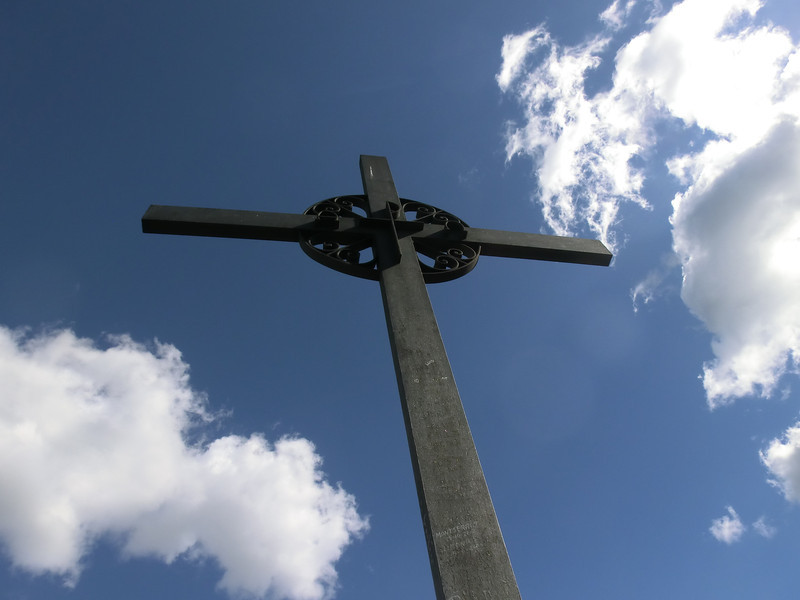 San Miguel's cross