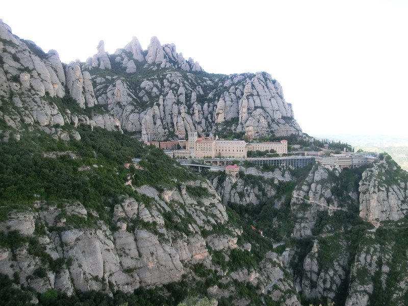 Montserrat complex from St. Miguel cross