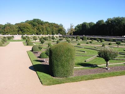 Chenonceau - gardens