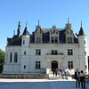 Chenonceau -- main entrance