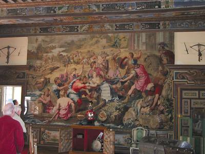 Cheverny -- tapestries