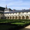Fontevrault courtyard