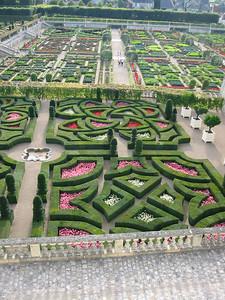 Villandry -- formal gardens