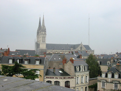 Angers -- cathedral