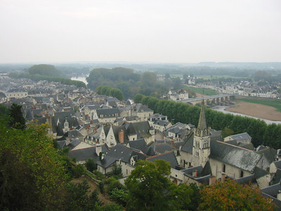Chinon -- from the Castle