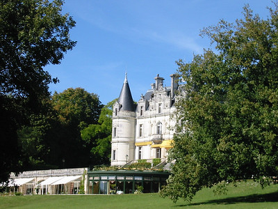 Tortiniere -- Chateau and restaurant (below)