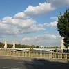 Seine -- blue sky and clouds