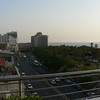 View of Tel Aviv from the balcony of Hotel Shalom