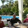 Carol, Jeff and Mary Jo enjoying lunch