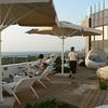 Tel Aviv:  Hotel Shalom roof balcony