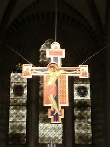 San Domenico:  Cimabue crucifix (13th C)