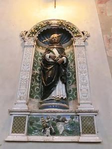 San Domenico:  Statue of St. Dominic