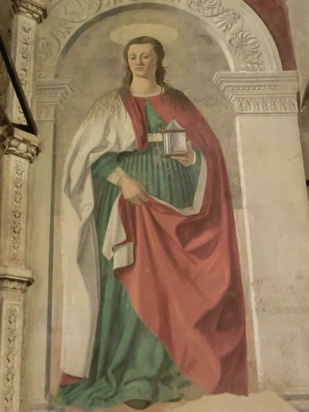 Cathedral of St. Donatus (Duomo):   Mary Magdalene, Piero della Francesca