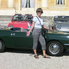 My new car (vintage Fiat exhibit at Villa Barbaro)