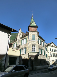 Typical Tyrolean architecture
