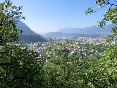 On the walk from Hotel Eberle to Castello Roncallo