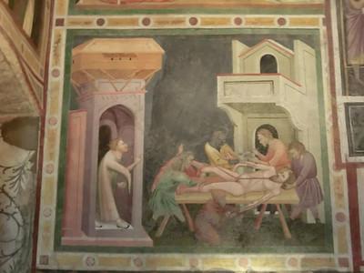 14th C frescoes, Chapel of San Giovanni, Dominican church
