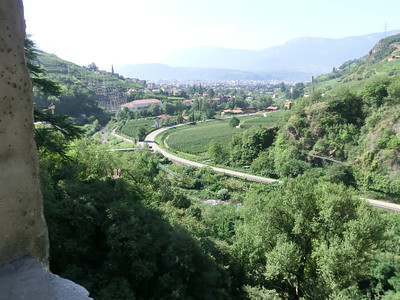 View from Castello Roncallo