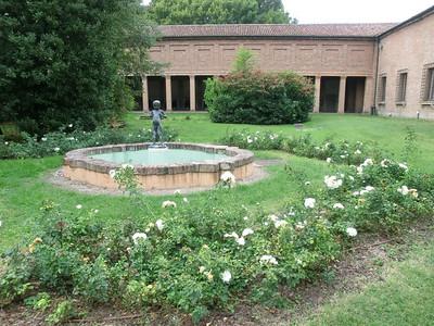 Garden at Casa di Marfisa d'Este