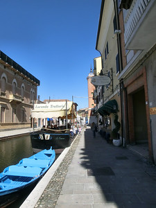 Comacchio:  Lunch beckons
