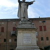 Local hero Girolamo Savonarola, who was born in Ferrara; the Florentines remember him differently