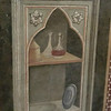 Santa Croce:  Baroncelli Chapel, one of the earliest still lifes in Western art; Taddeo Gaddi (14th C)