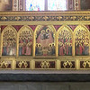 Santa Croce:  Baroncelli Chapel, Coronation of the Virgin, Giotto or his pupil, Taddeo Gaddi (14th C)