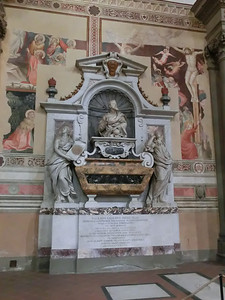 Santa Croce:  Galileo's tomb