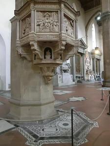 Santa Croce: Pulpit, Benedetto di Maiano (15th C)