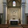 Santa Croce:  Medici Chapel, altar by Andrea della Robbia (15th C)