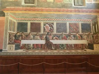 Cenacolo di Sant'Appolonia,  Last Supper, del Castagno (15th C)