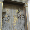 Santa Croce:  Annunciation, Donatello (15th C)