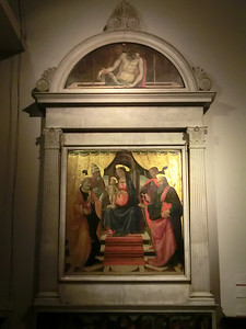 Cathedral of St. Martin:  Madonna and Child with Saints, Domenico Ghirlandaio