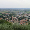 Marostica:  Walking up the hill to the tower