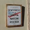 Bassano del Grappa:  Grappa toothpaste?