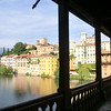 Bassano del Grappa:  On the bridge