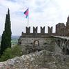 Marostica:  Tower battlements