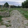 Paestum:  Ancient city street