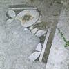 Paestum: Ancient tiled floor