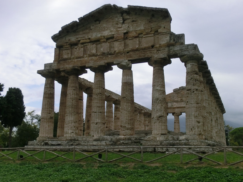 Paestum:  Temple of Athena, also called the Temple of Ceres (5th C BC)