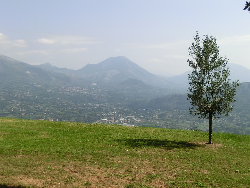 Monte Cassino: View of the valley